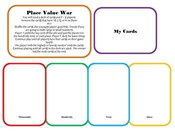 Place Value War