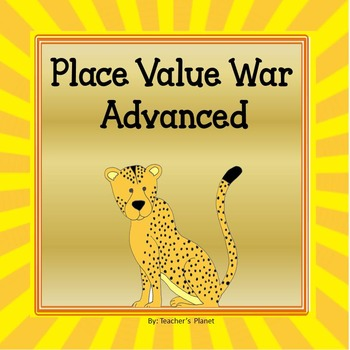 Place Value Games -  War Advanced