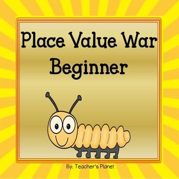 Place Value War Games - Beginner