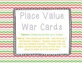 Place Value War Cards - Decimals