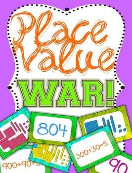 Place Value War - Comparing Base 10, Standard Form & Expan