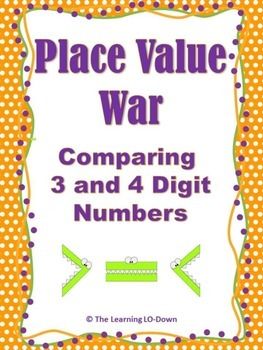Place Value War: Comparing Numbers