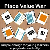 Place Value War--First Grade