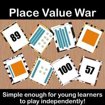 Place Value War--First Grade