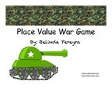 Place Value War Game
