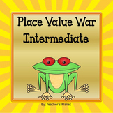 Place Value War Games - Intermediate