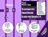 Place Value Warm-Ups: 15 Interactive SmartBoard Activities for Grades 3-5