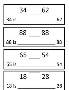 Place Value Warm Ups