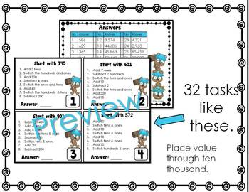 Place Value Warm-Ups: Daily Math Activities