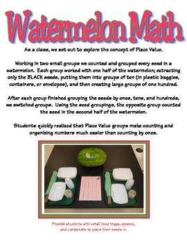 Place Value - Watermelon Math