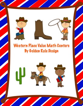 Place Value Western Common Core Aligned Math Centers