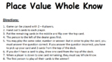 Place Value Whole Know
