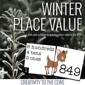 Place Value - Winter Centers