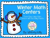 Place Value Winter Math Centers
