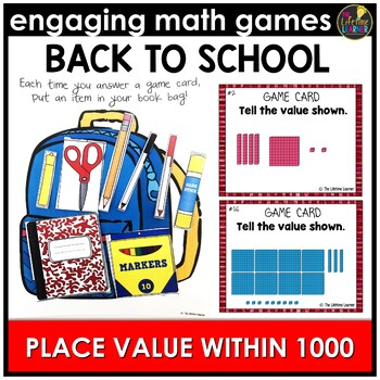 Place Value Within 1000 Back to School Game