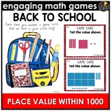 Place Value Within 1000 August Math Center