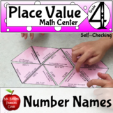 Place Value Number Names ( Word Form ) Math Center