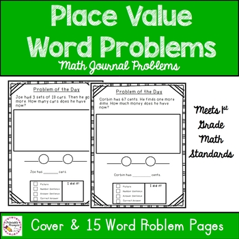 place value word problems by printableprompts teachers pay teachers. Black Bedroom Furniture Sets. Home Design Ideas
