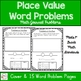 First Grade Place Value Word Problems