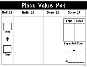 Place Value Work Mat