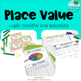 Place Value Math Centers and Games