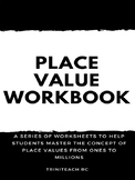 Place Value Workbook with separate Answer Booklet