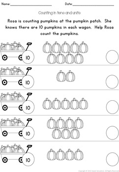 Place Value: Working with Numbers 11-19 KS1 (UK)