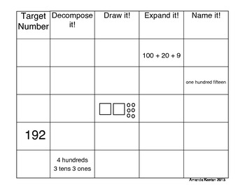 Place Value Worksheets: Let's Play with Numbers!