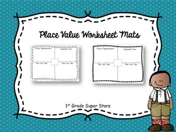 Place Value Worksheet Mats
