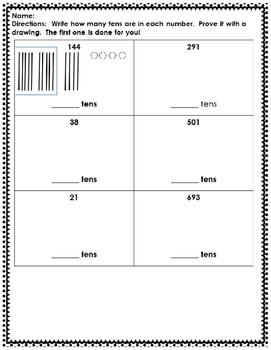 Place Value Worksheet Pack