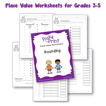 place value worksheets with expanded form word forms rounding numbers more. Black Bedroom Furniture Sets. Home Design Ideas