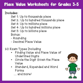 Place Value Worksheets With Expanded Form Word Forms Rounding