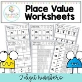 Place Value Worksheets - 2 Digit Numbers