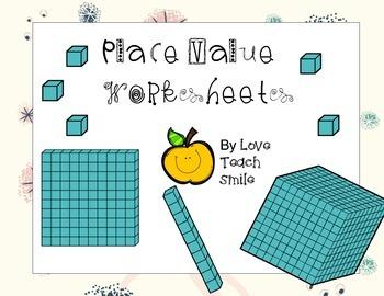 Place Value Worksheets 2nd Grade