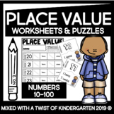 Place Value Worksheets | Numbers 10-100 | Unit 3