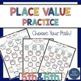 Place Value Worksheets - 5th and 6th grade