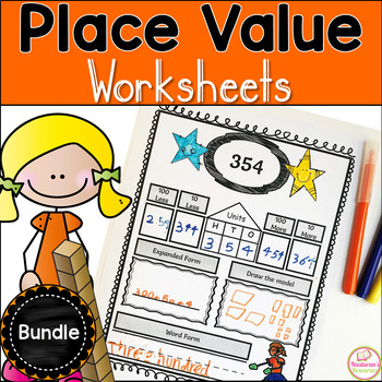 Place Value Worksheets Bundle