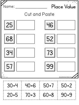 Place Value Tens And Ones Worksheets-Base Ten Blocks Worksheets