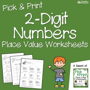 Place Value Worksheets Tens and Ones, Place Value Blocks Worksheets