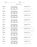 Place Value Worksheets: Hundreds, Tens, Ones