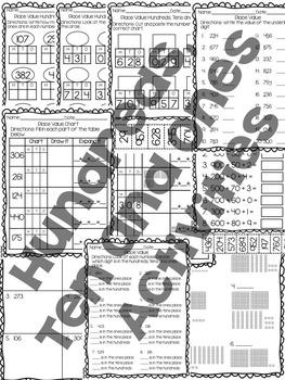 Place Value Worksheet Mega Pack