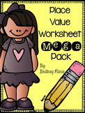 Place Value Worksheet Mega Pack