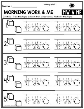 Place Value Worksheets | Place Value Morning Work
