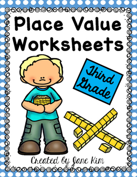 Place Value Worksheets Third Grade