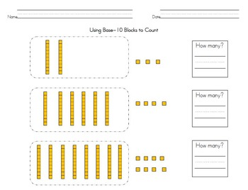 Place Value Worksheets:Understanding Ones, Tens, Hundreds & Comparing Numbers