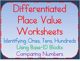 Place Value Worksheets:Understanding Ones, Tens, Hundreds