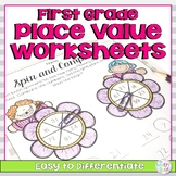 Place Value Worksheets for First Grade