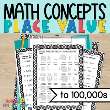 Place Value Worksheets 3rd Grade Teks Aligned 4th Grade Ccss Aligned