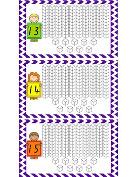 Place Value Write and Wipe Cards
