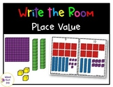 Place Value- 3 Digit Numbers Write the Room